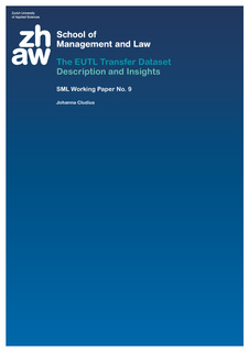 The EUTL Transfer Dataset Description and Insights