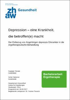 Depression – eine Krankheit, die betroffen(e) macht